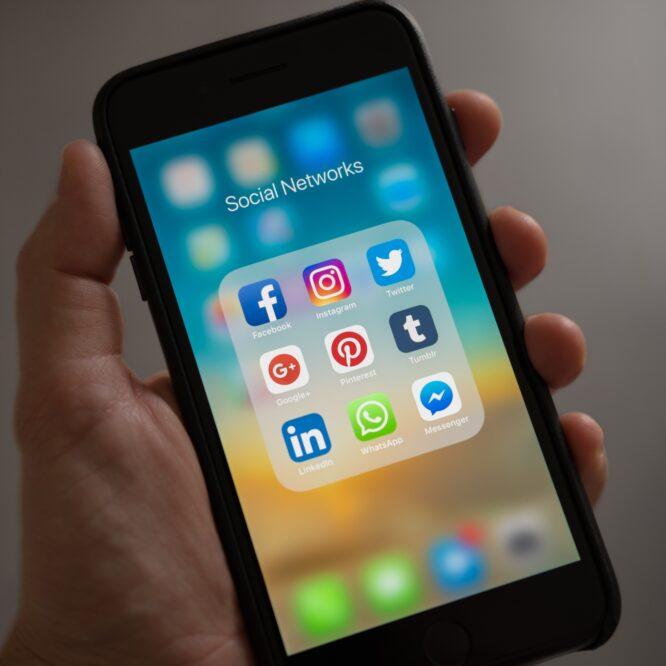 The social media addict